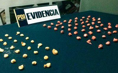 PDI Querían ingresar droga a la cárcel de Santa Cruz simulando suflitos de colores