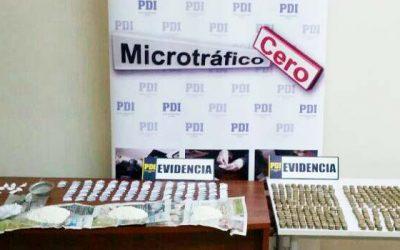 PDI detiene a mujer que utilizaba menores para comercializar drogas frente a jardín infantil