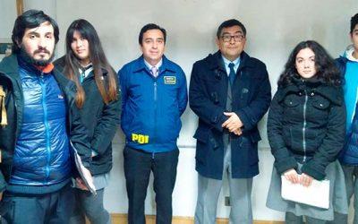 PDI efectúa charla sobre responsabilidad penal adolescente al colegio San Lorenzo de Rancagua