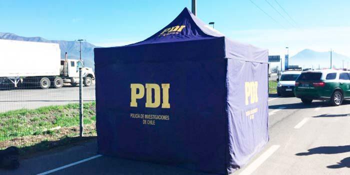 PDI investiga muerte de hombre de 77 años en Mostazal