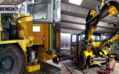 PDI recupera maquinaria minera avaluada en más de 400 millones de pesos