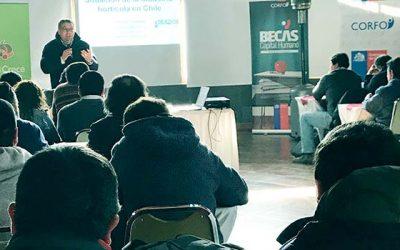 Programa de la Corfo formará a expertos en horticultura en la Sexta Región