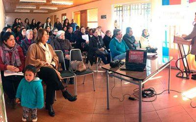 Programas del Subsistema de Seguridades y Oportunidades capacitan a familias de Olivar