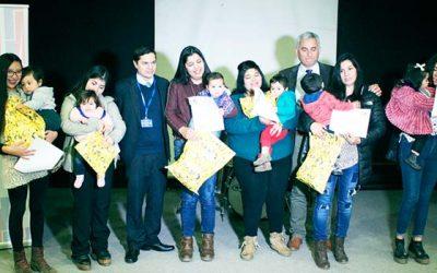 Salud Machalí participa en premiación regional de lactancia materna exclusiva