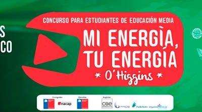 Seremi de energía invita a jóvenes a participar en concurso Mi energía tú energía