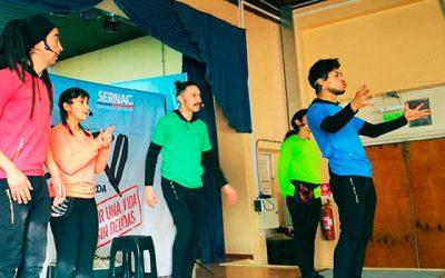 Sernac OHiggins presenta obra de teatro Zero a la izquierda en Rancagua y San Fernando