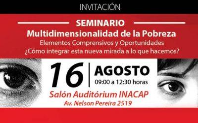 TECHO-Chile realizará seminario sobre la multidimensionalidad de la pobreza