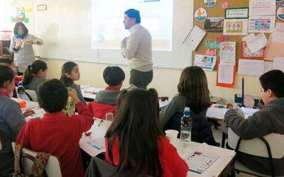 Unidad de derechos humanos visitó colegio de la Región