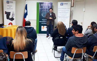 Usuarios de Rancagua reciben curso para obtener licencia de conducir clase B
