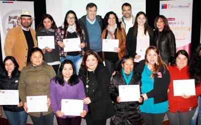 140 mujeres de Cachapoal mejoran calidad de vida gracias al programa de apoyo a la dinámica familiar