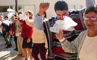 Adultos de la unidad de corta estadía del Hospital Regional celebraron Fiestas Patria