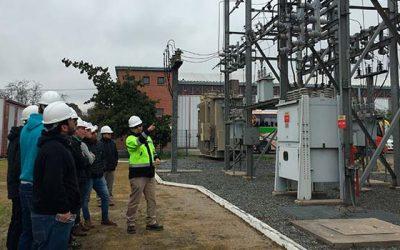 Alumnos del Inacap Rancagua refuerzan conocimientos en sistemas de transmisión eléctricos de CGE
