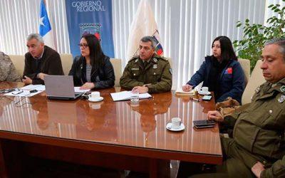 Autoridades realizan reunión de coordinación para enfrentar temporada de incendios forestales