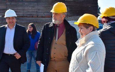 Avanzan obras del Centro Comunitario de barrio Las Américas