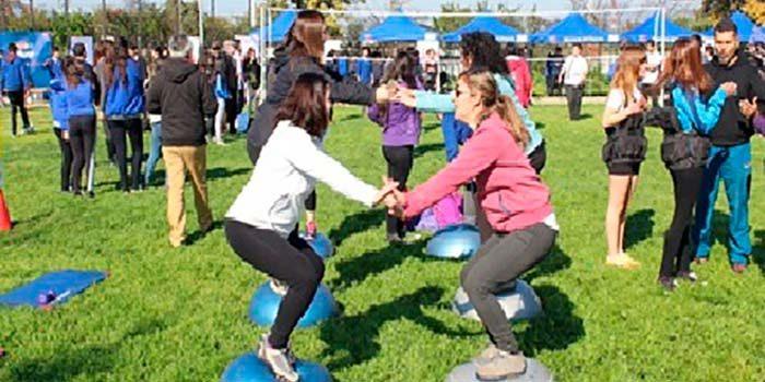 Cerca de 300 alumnos del liceo Luis Urbina flores participan de feria deportiva