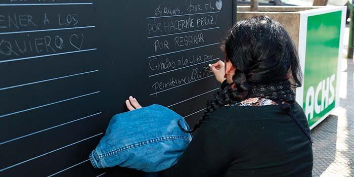 Con letras de Violeta Parra y música de Manuel García, la AChS entregó mensaje preventivo para fiestas patrias
