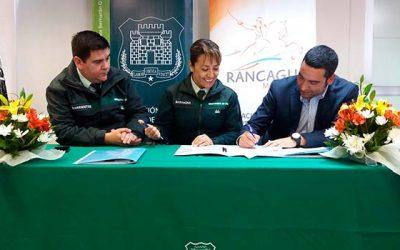 Corporación Municipal de Deportes de Rancagua y Gendarmería firman convenio