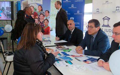 Corte de Apelaciones y tribunales de Rancagua organizan Plaza ciudadana del Poder Judicial en Hospital Regional
