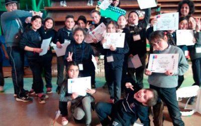 Delegaciones de 17 alumnos de Rengo participan de la sexta versión en Nancagua