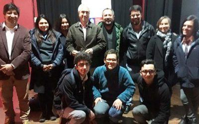 Director de Jhonny 100 pesos habló de su experiencia cinematográfica en diálogo estudiantil