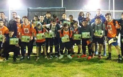 Escuelas municipales de fútbol de Rancagua viven la final del certamen de invierno