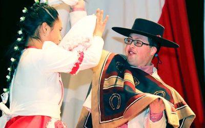 Estudiantes con capacidades diferentes de San Fernando demuestran sus virtudes en encuentro folclórico