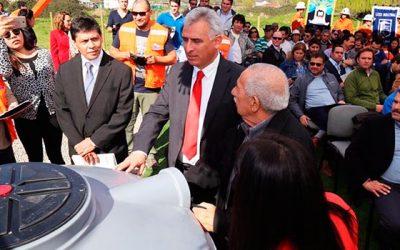 Inauguran escuela mina planta en Chancón