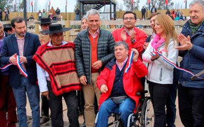 Inauguran primera medialuna en Rosario