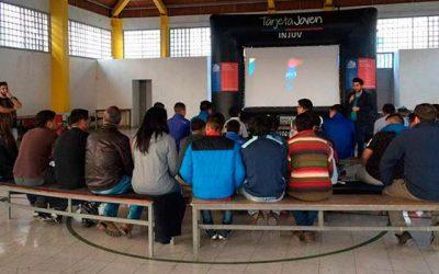 Jóvenes del centro de internación provisoria de Graneros disfrutan del #cineitinerante