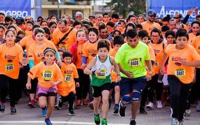 Más de mil personas corrieron por las calles de San Vicente