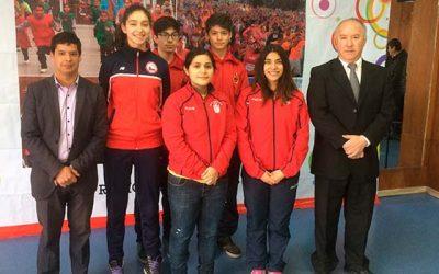 Ministerio del Deporte e IND reconocen a destacados deportistas locales