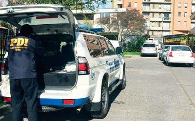 PDI investiga robo con intimidación en Rancagua