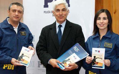 PDI lanza campaña sobre accidentes domiciliarios