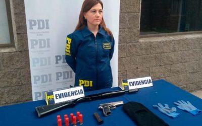 PDI recibe llamado sobre disparos frente a colegio en Rancagua