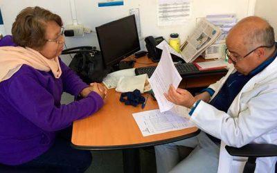 Pacientes de Mostazal son atendidos por Otorrino en Cesfam de la comuna