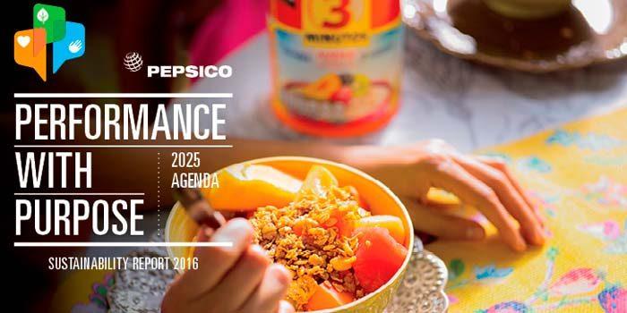 Pepsico informa sobre progreso frente a sus metas de desempeño con propósito al 2025