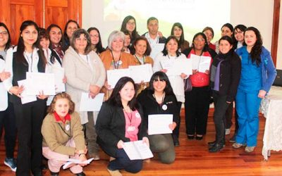 Posta de localidad de esmeralda de Rengo certifica nuevos monitores en salud comunitaria