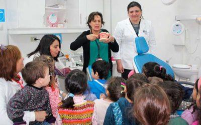 Preescolares se deleitan con tour educativo Tú eres parte de mi historia de Salud Machalí