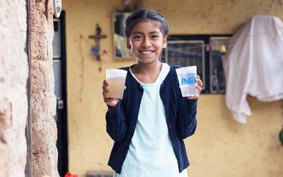 Presentan programa Agua limpia para los niños en el país