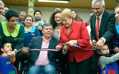 Presidenta inaugura jardín infantil y sala cuna en Rengo