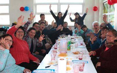 Salud Machalí conmemora el mes patrio junto a sus adultos mayores