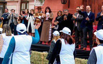 San Fernando se tiñó de color con su tradicional desfile de las fuerzas vivas