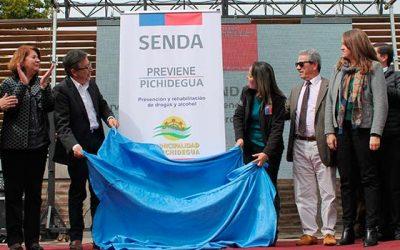 Senda inaugura nueva oficina Previene en Pichidegua