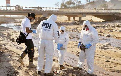 Usurpación de aguas y la extracción de áridos nuevos delitos investigados por la PDI