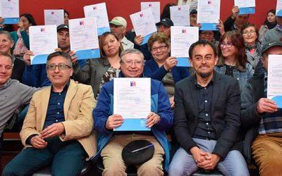 68 familias de Las Cabras tendrán viviendas propias