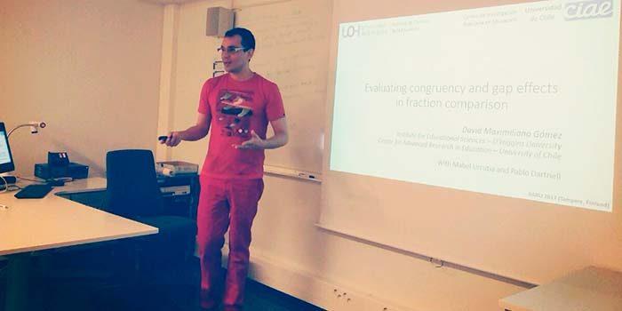 Académico de la UOH participa en encuentro internacional EARLI en Finlandia