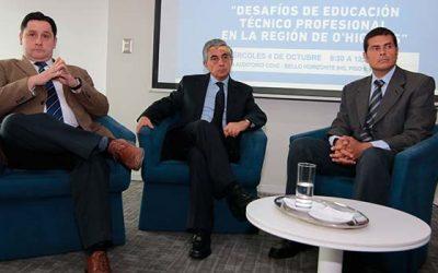 CChC Rancagua realiza exitoso coloquio sobre Desafíos de la Educación en la región de OHiggins