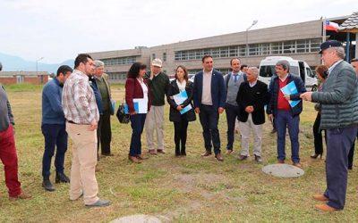 Campus Colchagua de la UOH ya cuenta con agua potable y plaza interior remodelada