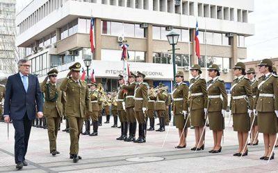 Carabineros homenajeó a los caídos en la Batalla de Rancagua con un impecable desfile