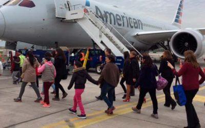 Coanil y American Airlines colaboran en conjunto por un Chile inclusivo